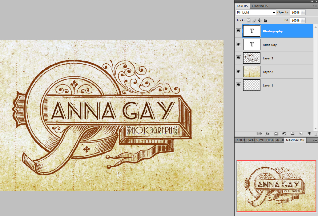 Make a Cool Logo in Photoshop in 10 Minutes or Less!: 6 Steps