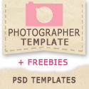 Photographer Template Designs