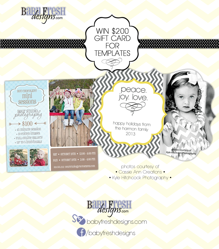 featured vendor and giveaway baby fresh designs