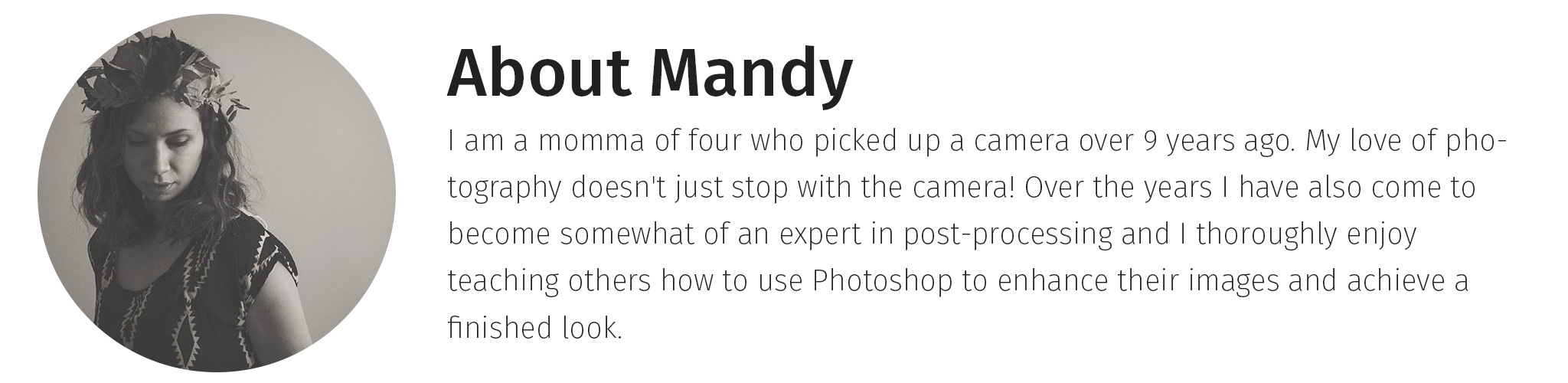 Mandy Glisson Photoshop Instructor
