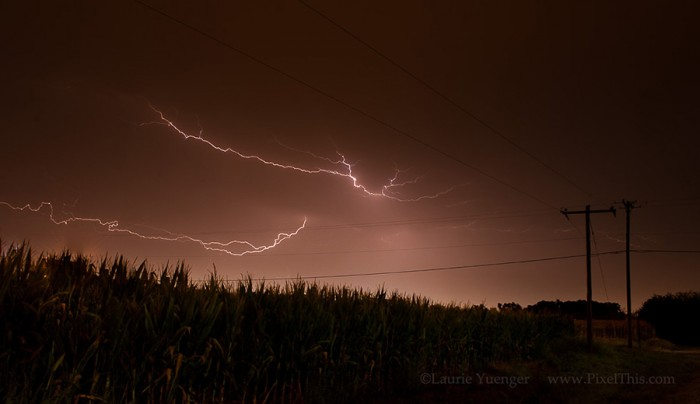 take lightning photos