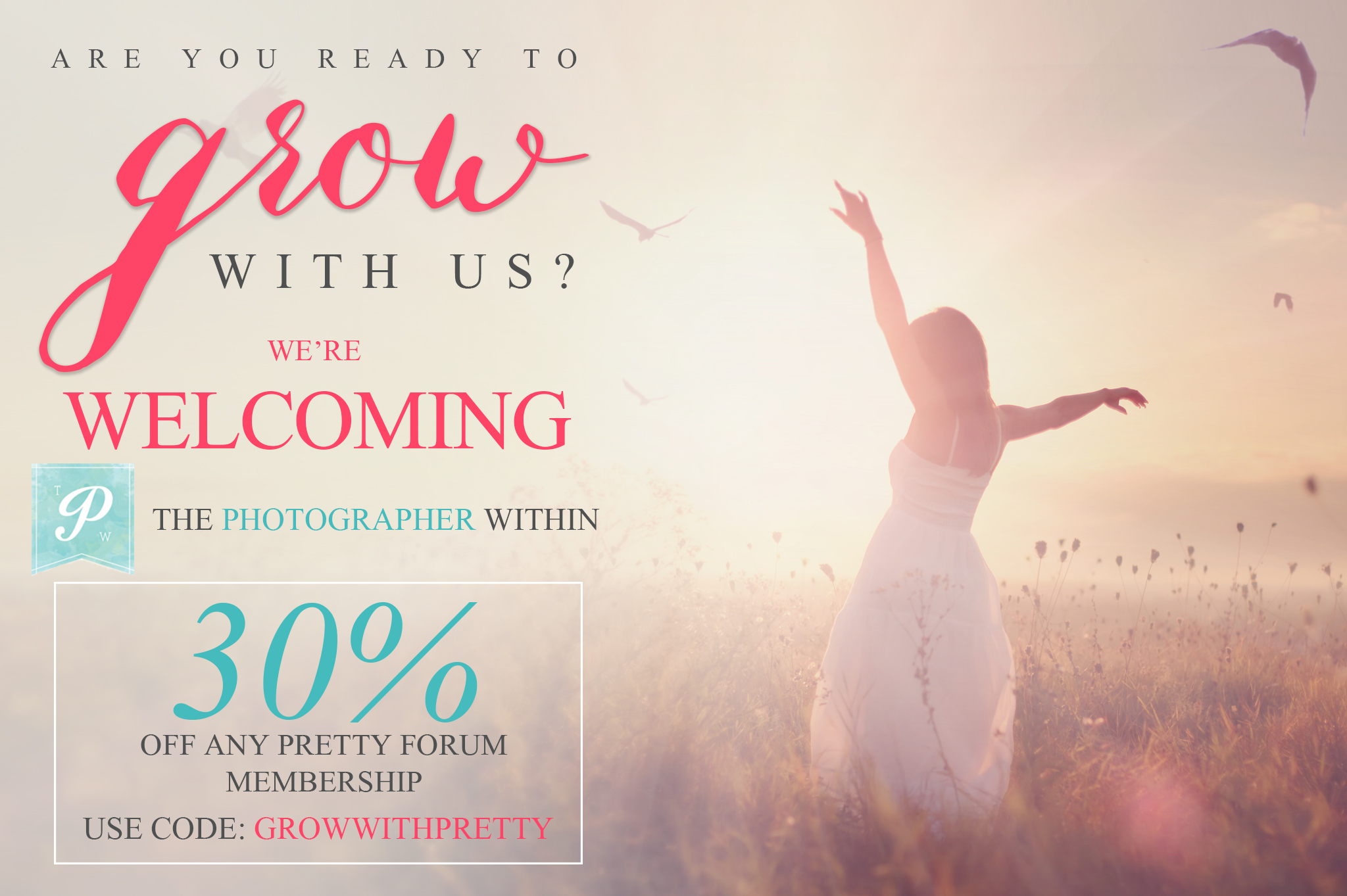 The Pretty Forum is growing! Are you ready?