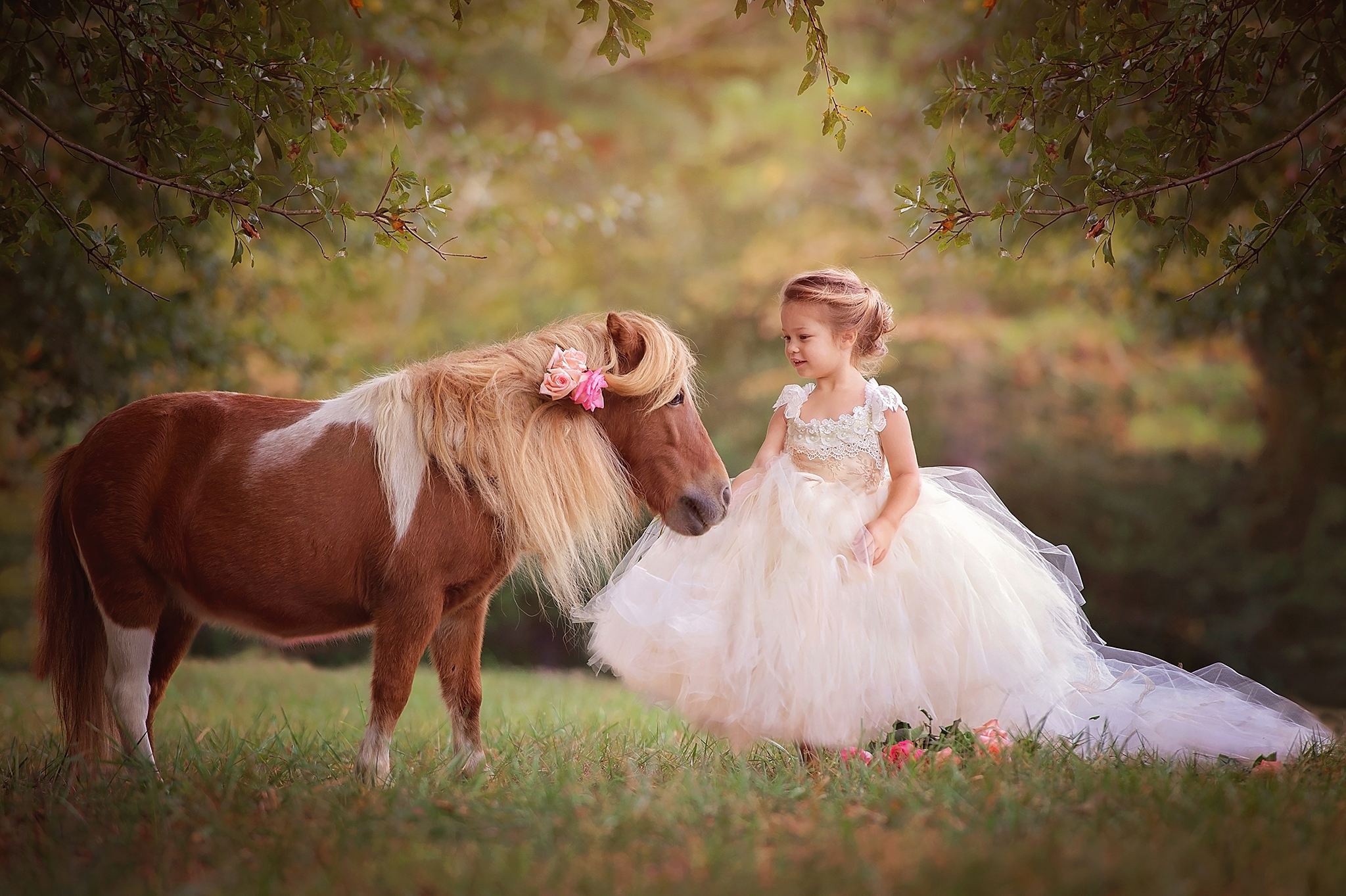 The-Princess-And-Her-Pony-Freckled-Flower-Photography