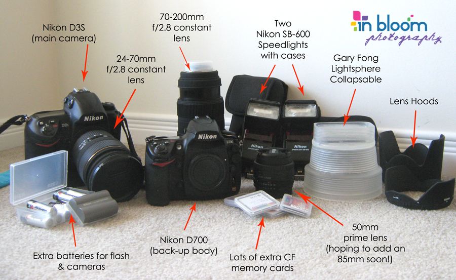 So You Want To Be A Wedding Photographer Beginners Shopping List