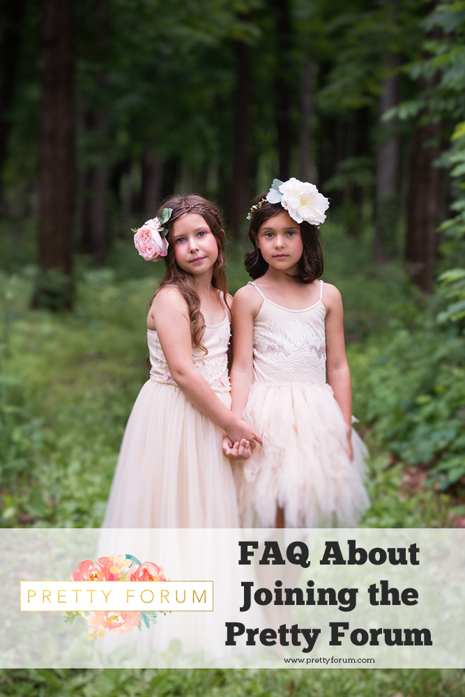 Why You Should Join the Pretty Forum for Photographers