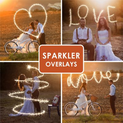 Sparkler Overlays Just for YOU!!