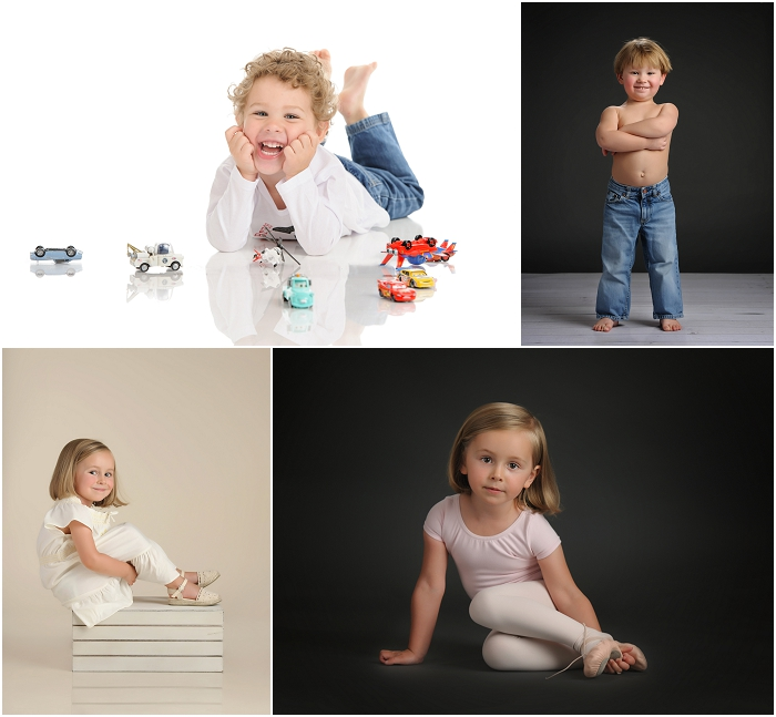 Child Portrait Photography with Studio Lighting