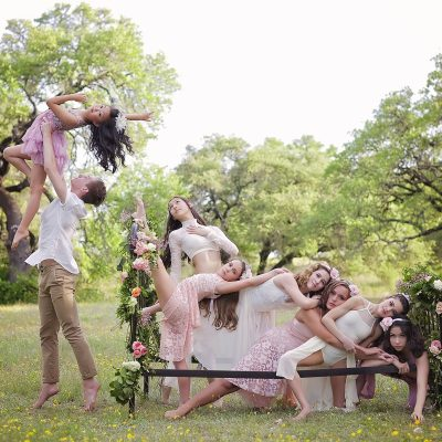 A Whimsical Dance Shoot